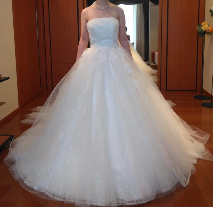 ボリュームがあり可愛いドレス