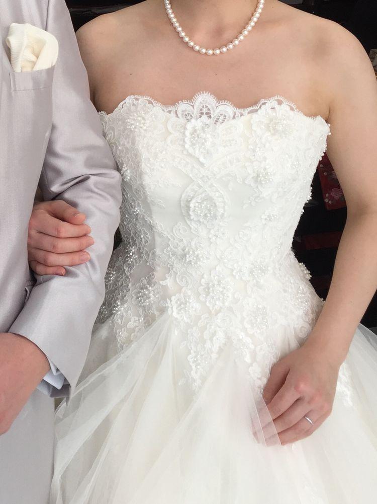 キヨコハタドレスのチュール