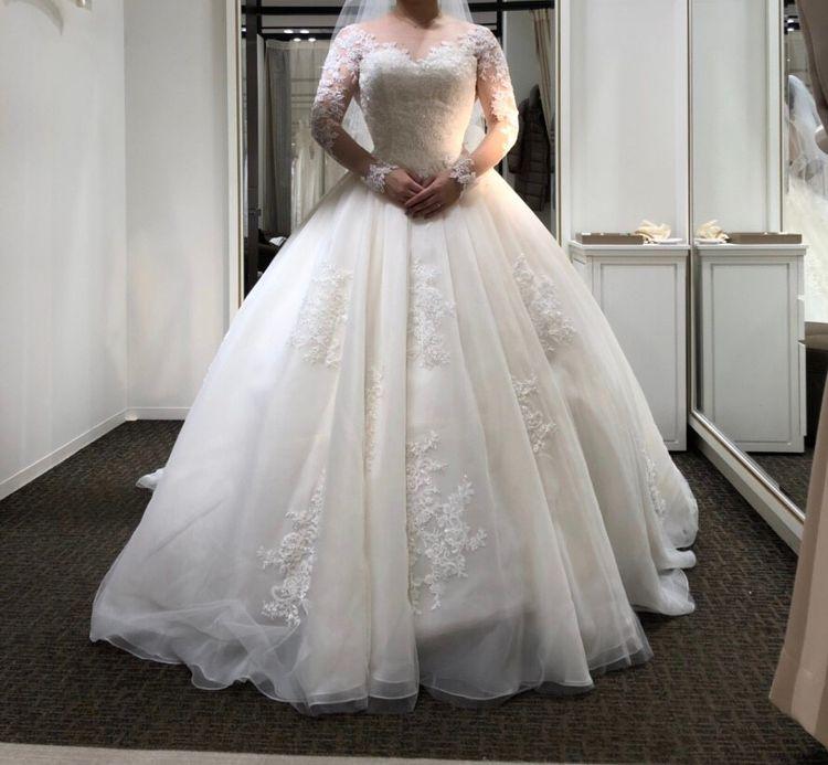 クチュールナオコのウエディングドレス