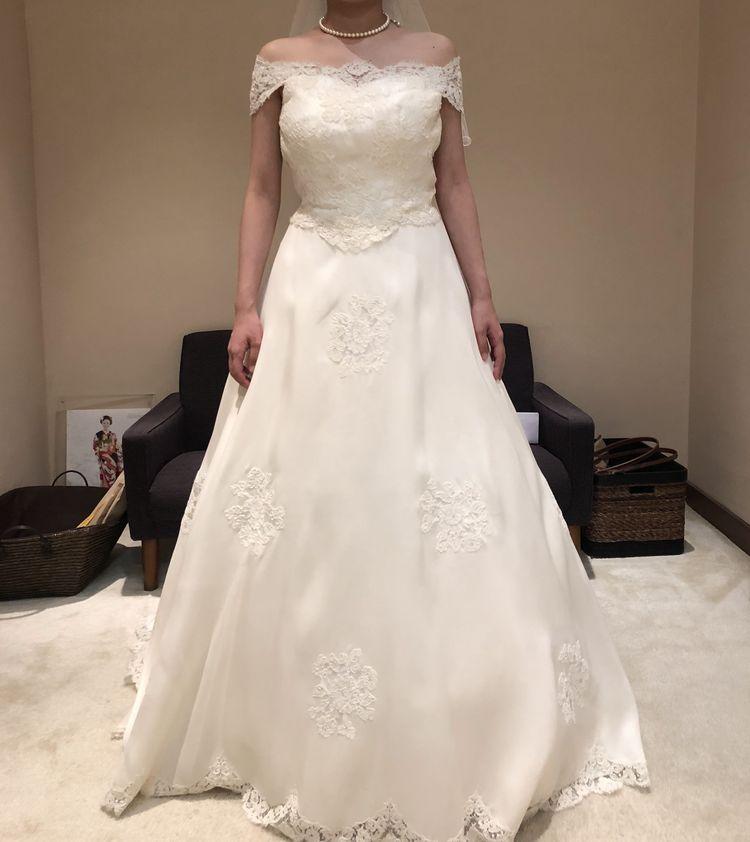 上品で可愛さもあるドレス