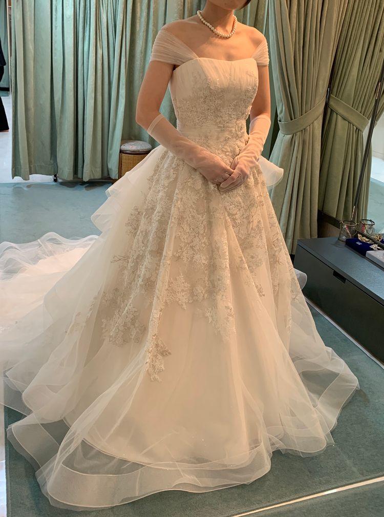 エーラインウェディングドレス