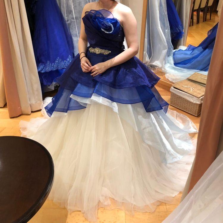 オーバースカートドレス