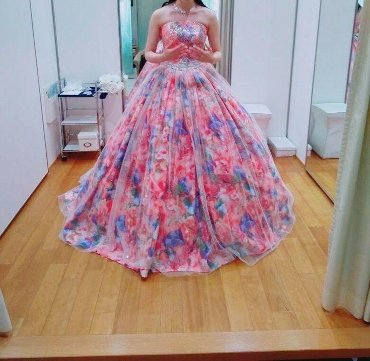 表参道限定のドレス