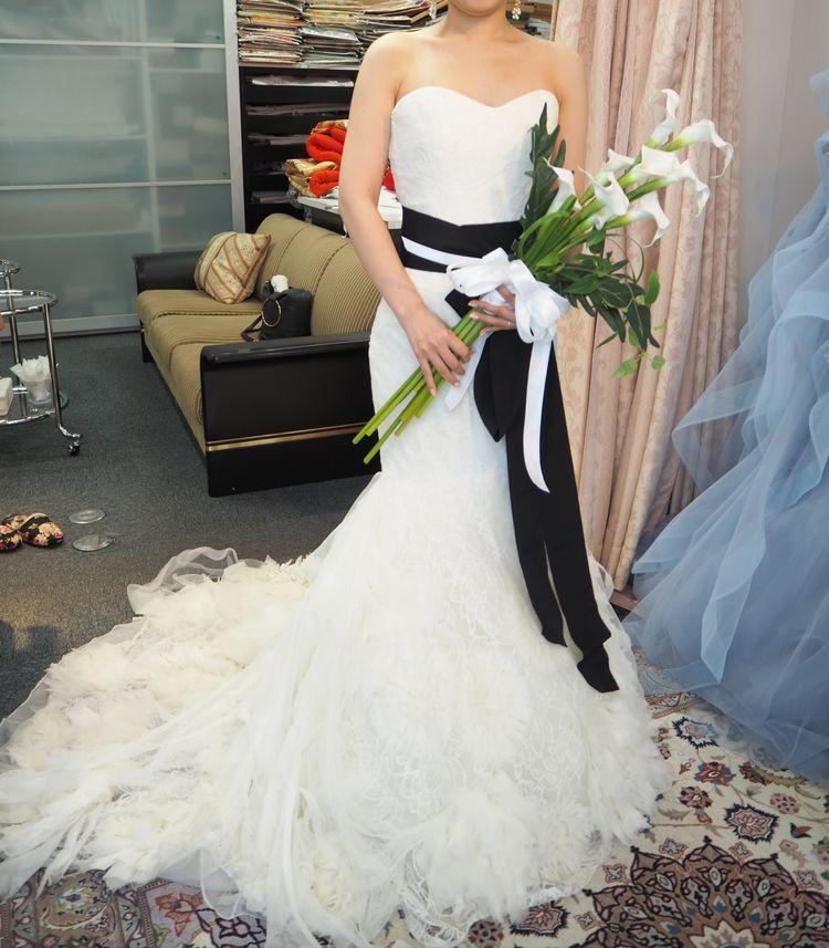 花嫁憧れのVeraWangのマーメイドドレス