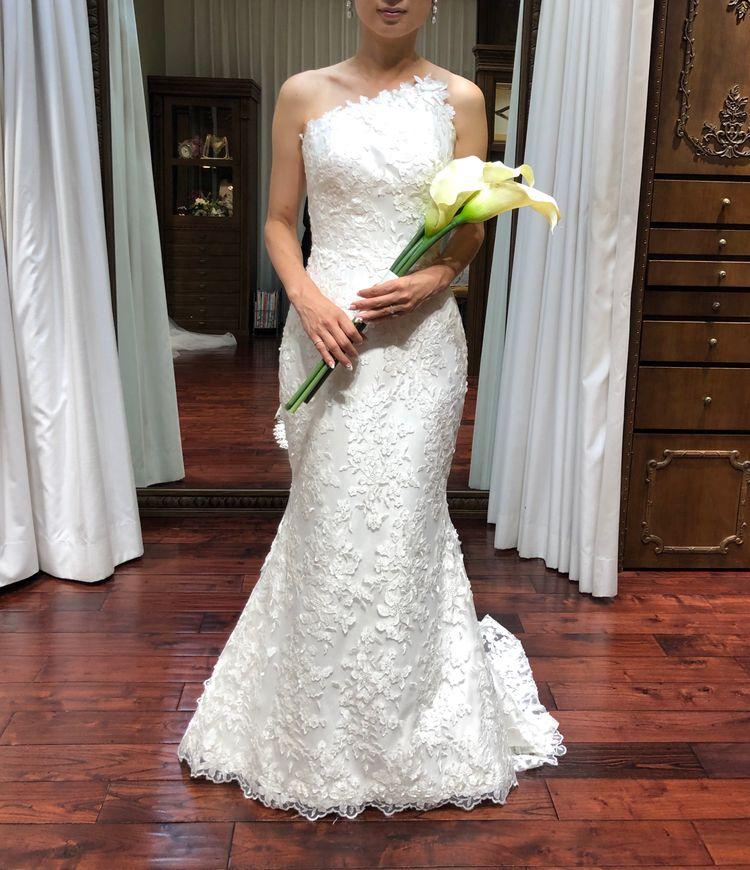 セレブ風マーメイドドレス