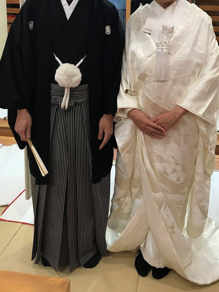シンプルな紋付き袴