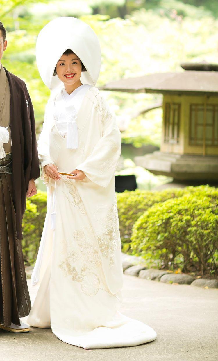 和婚式がしたい!モダンと古風さが融合した白無垢