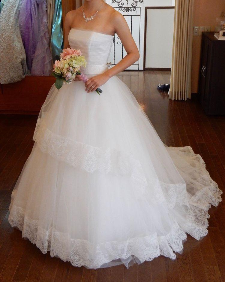 ふわっと可愛らしいドレス