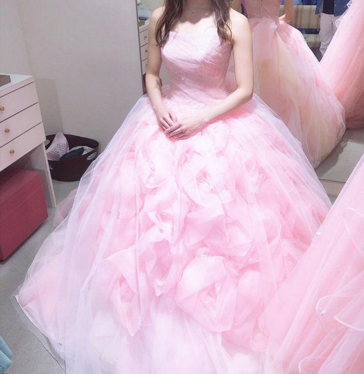 ふわふわなドレス
