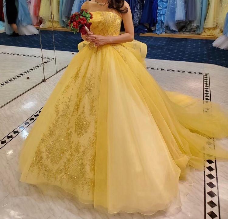 ベルのようなドレス