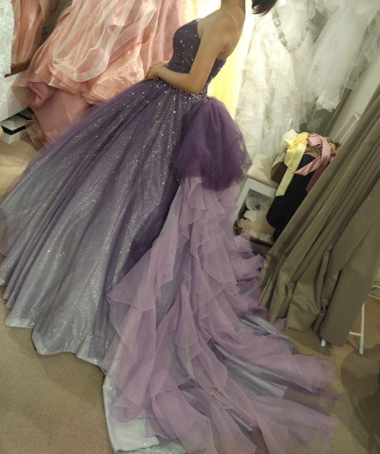 キラキラ 星空のドレス