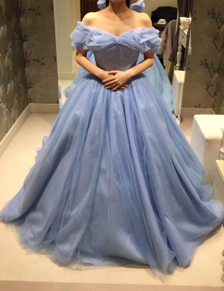 シンデレラのようなキュートなドレス