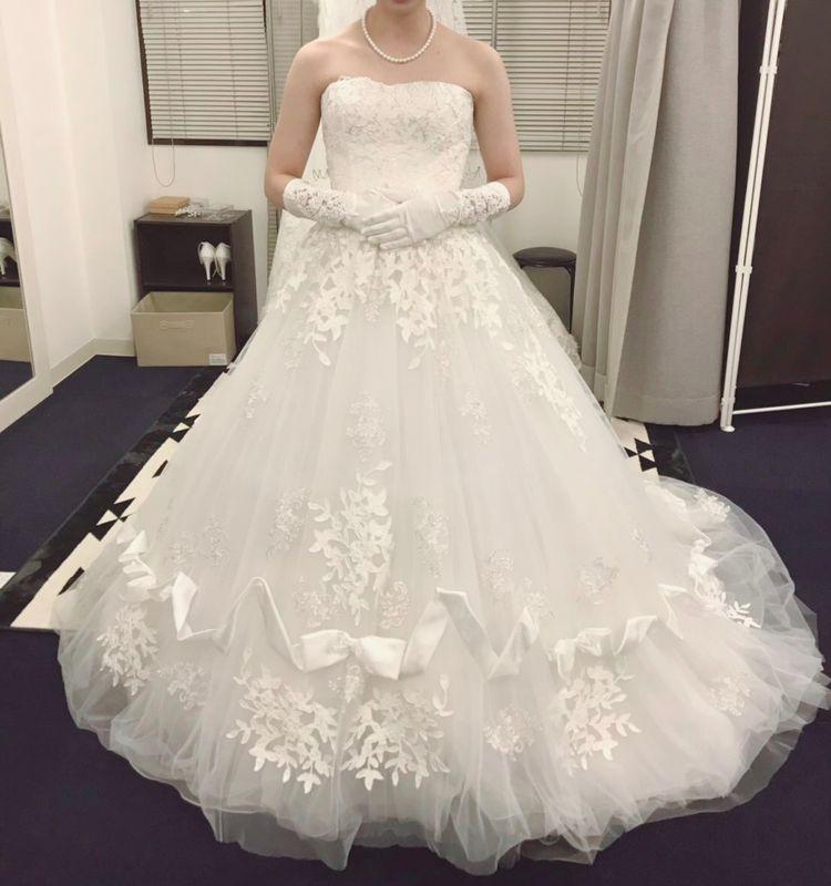 プリンセスになれるドレス