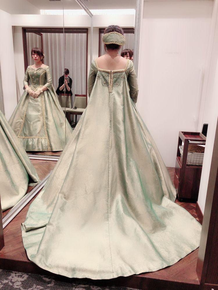 ミラコスタオリジナルドレス