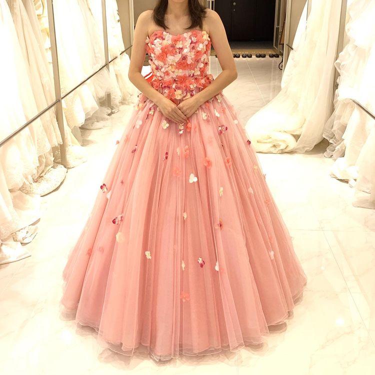 お花たっぷりドレス