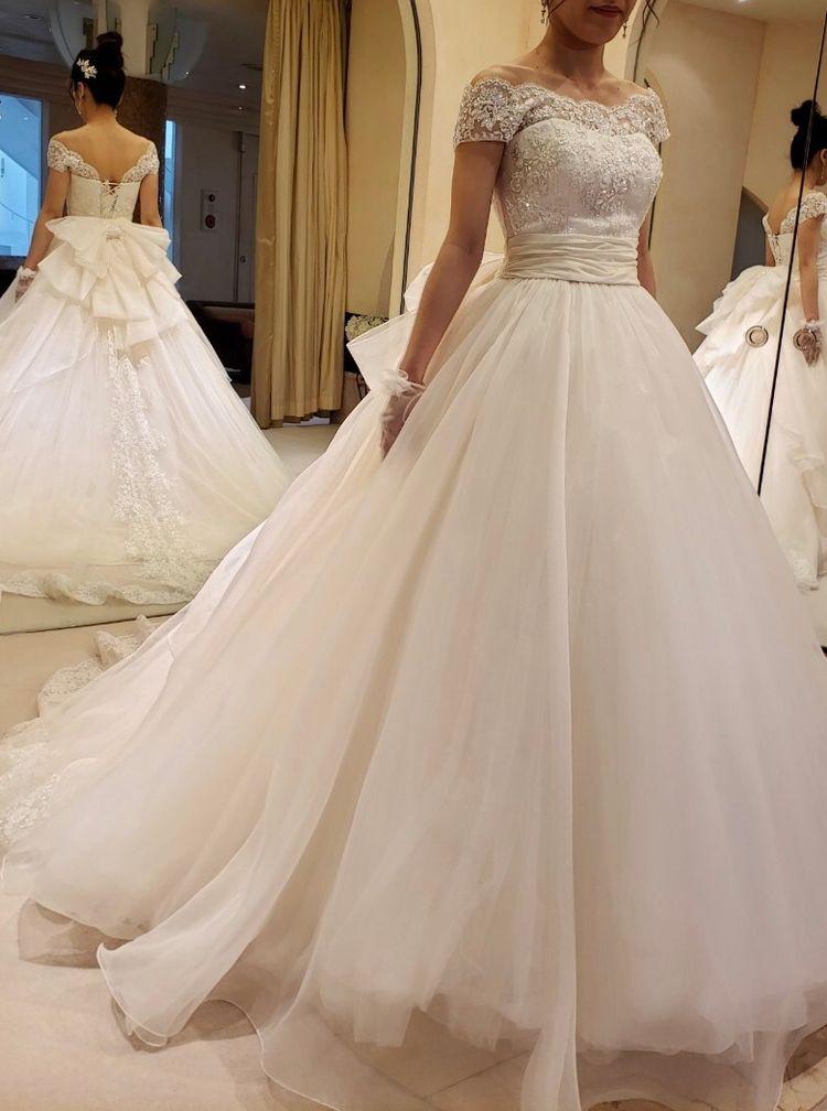 ふんわり上品なドレス
