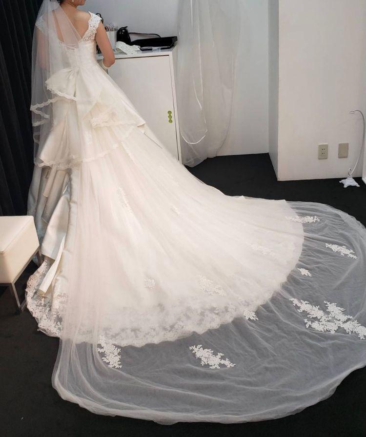 プリンセス感が可愛いドレス