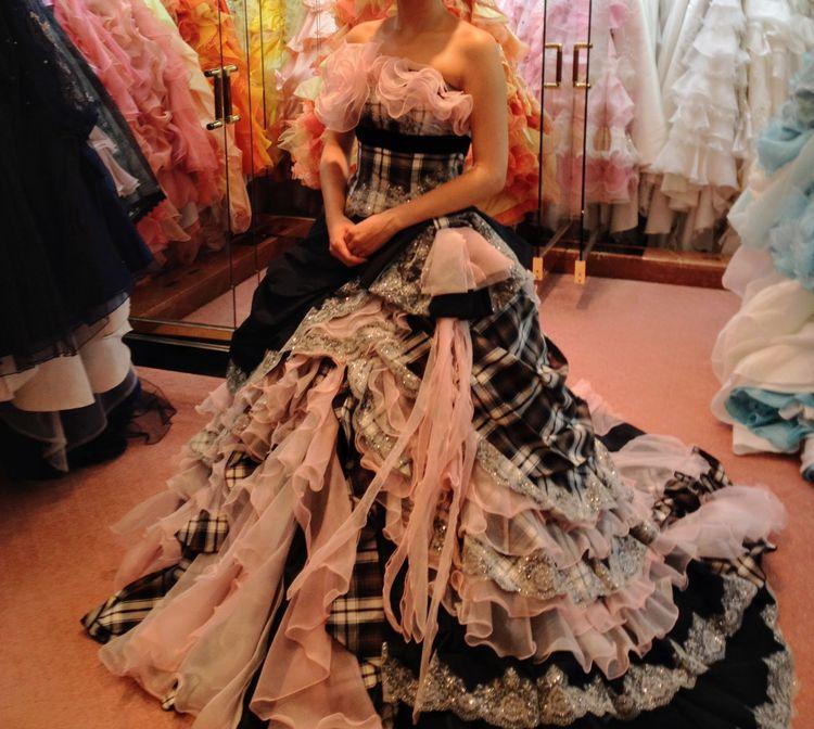上戸彩さんプロデュースのドレス