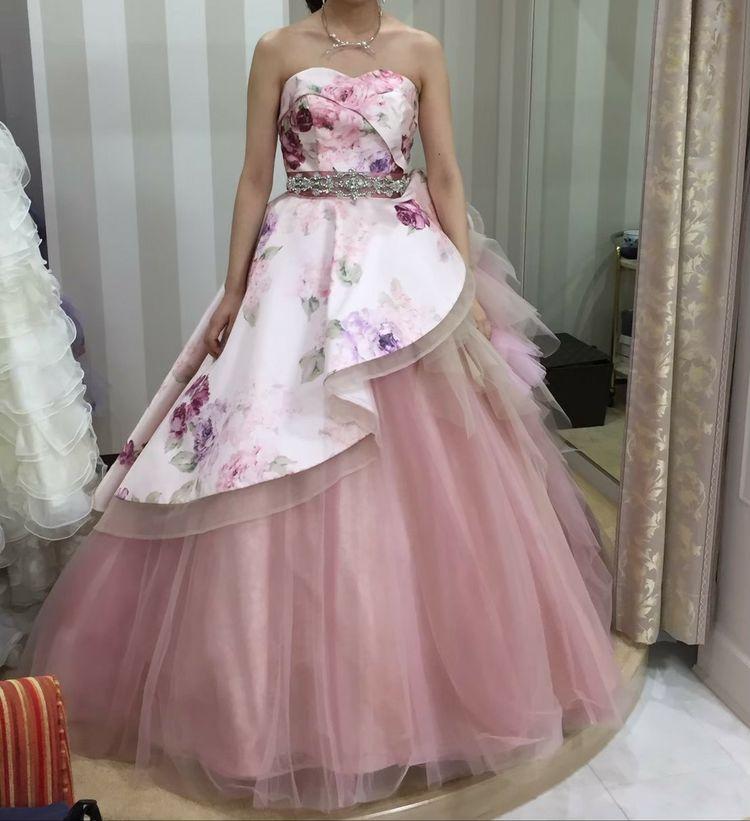 大人っぽくて、上品さもある可愛いドレス
