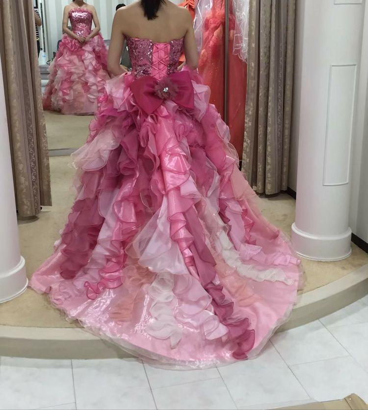 とってもキュートなドレスです