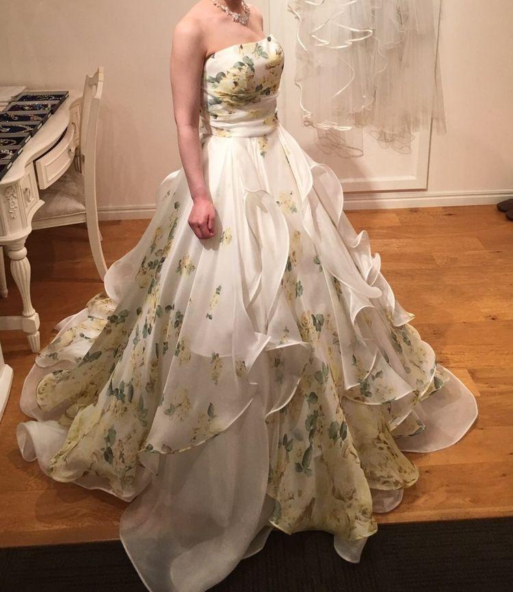 とっても軽いドレスです!