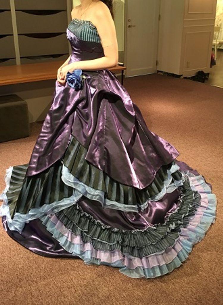 おしゃれでファッショナブルなデザインのドレスが豊富でした