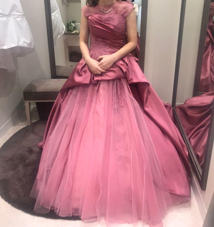 シックなピンク色