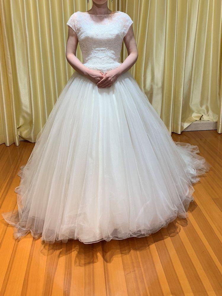 ふんわりWeddingドレス
