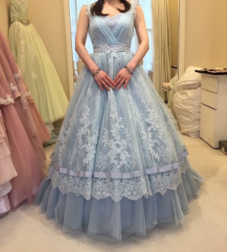 リアルシンデレラを実現!肌写りの良いドレス