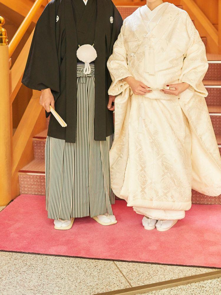 北海道神宮で式を行うなら絹裳の利用を強くおすすめします!