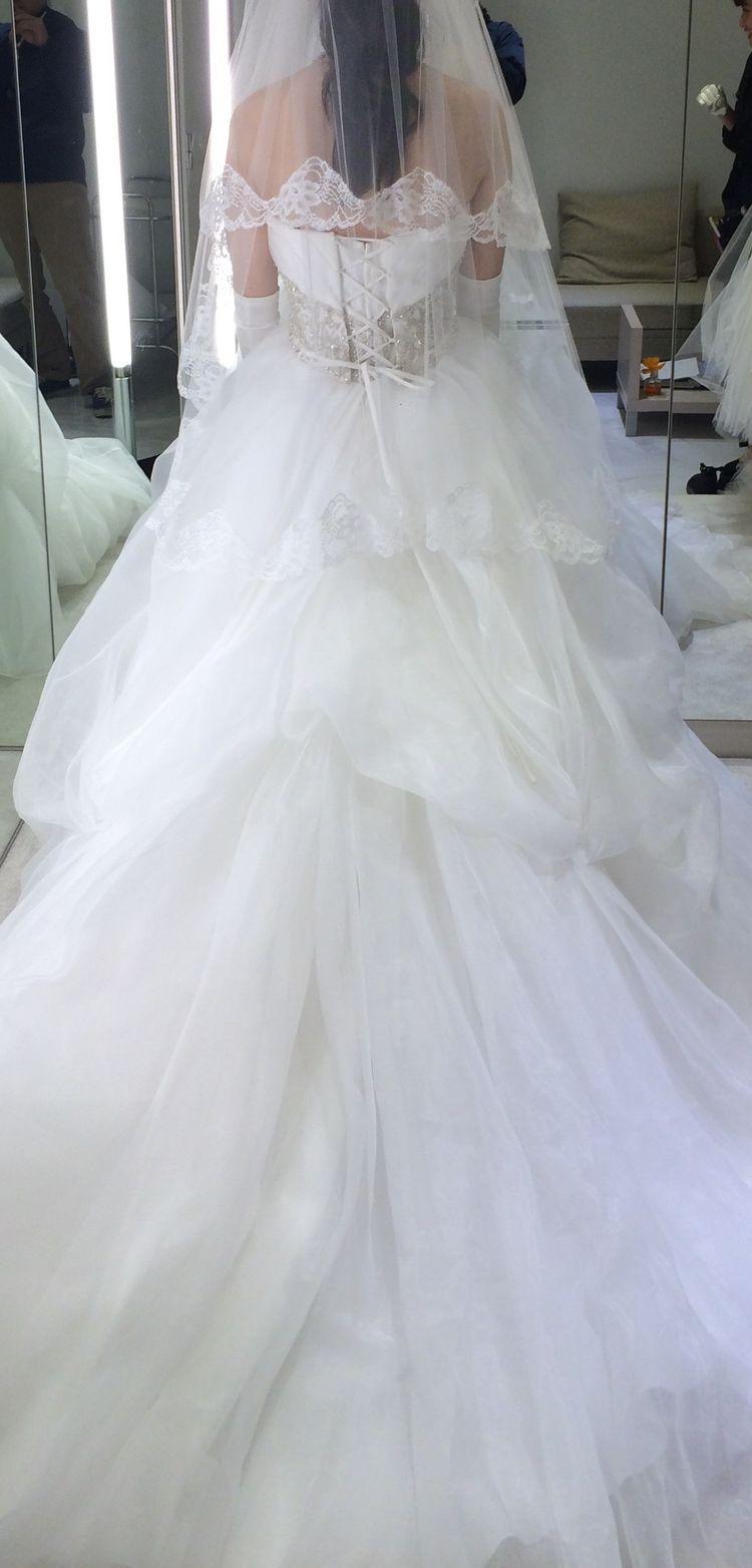 理想のドレスを見つけることができました。