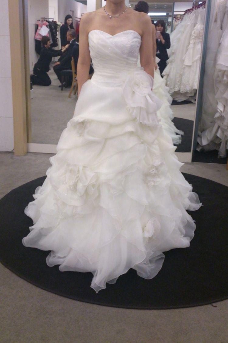 5万円のアップグレードでいろいろ選べるドレス