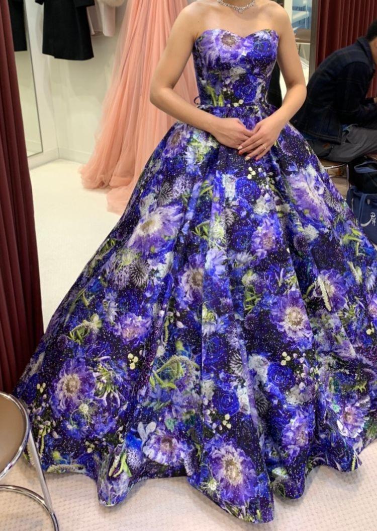 印象的なドレス!