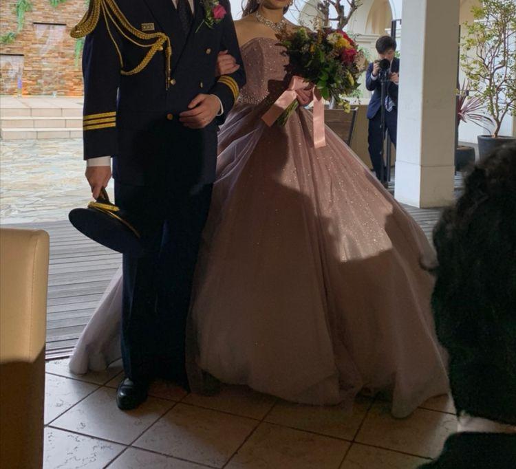 このドレスが着られて幸せでした!!