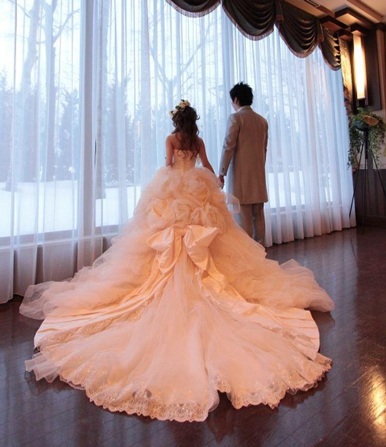 お花とリボンの良いとこどりドレス