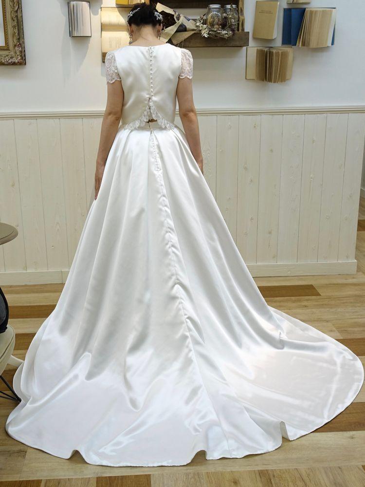 セパレートタイプのお洋服のようなドレス