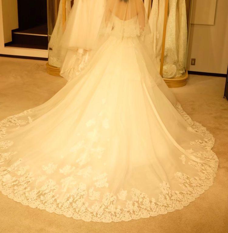 カンタベッラさんのドレス!