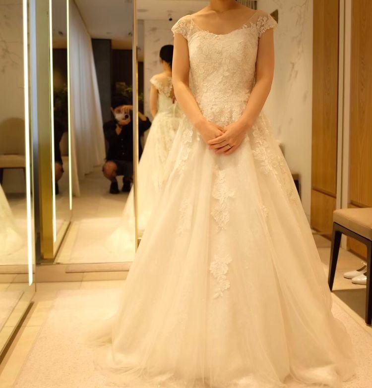 ノースリーブタイプのドレス