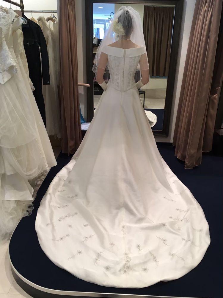 王道のドレス