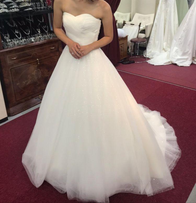 ふわふわできれいなチュールのドレス