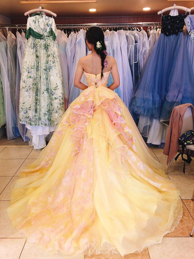 憧れの可愛らしいドレス
