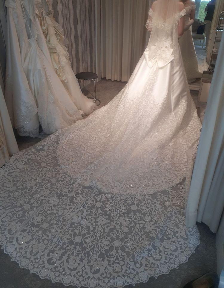 「ザ・花嫁!」なウェディングドレス♡