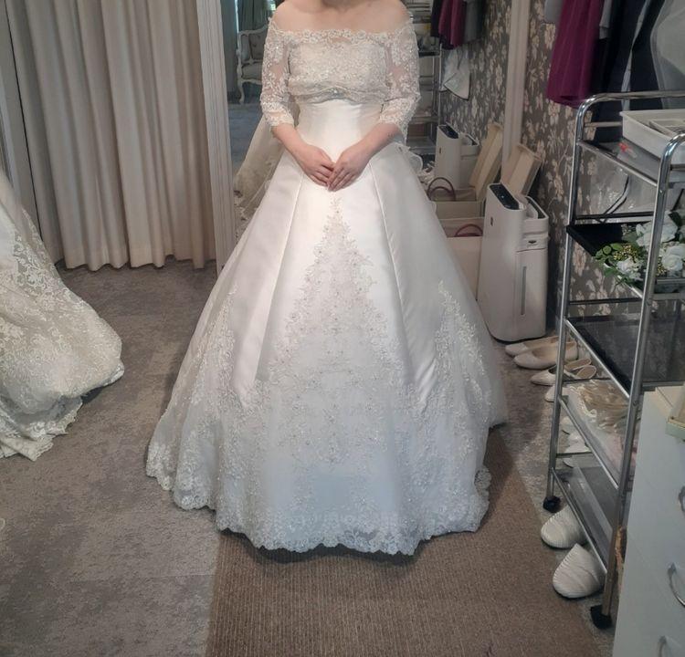 ビジューが可愛い2wayドレス♪