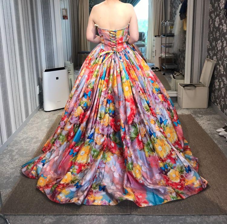 蜷川実花さんのドレス♥