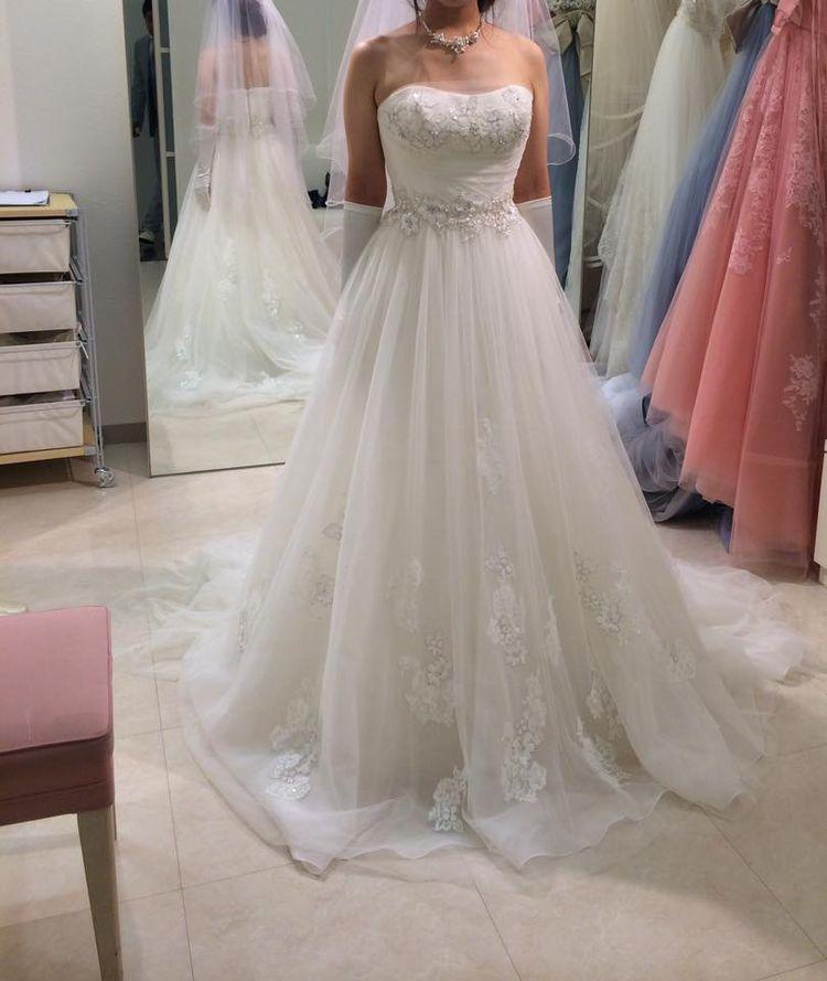 柔らかく優しいドレス