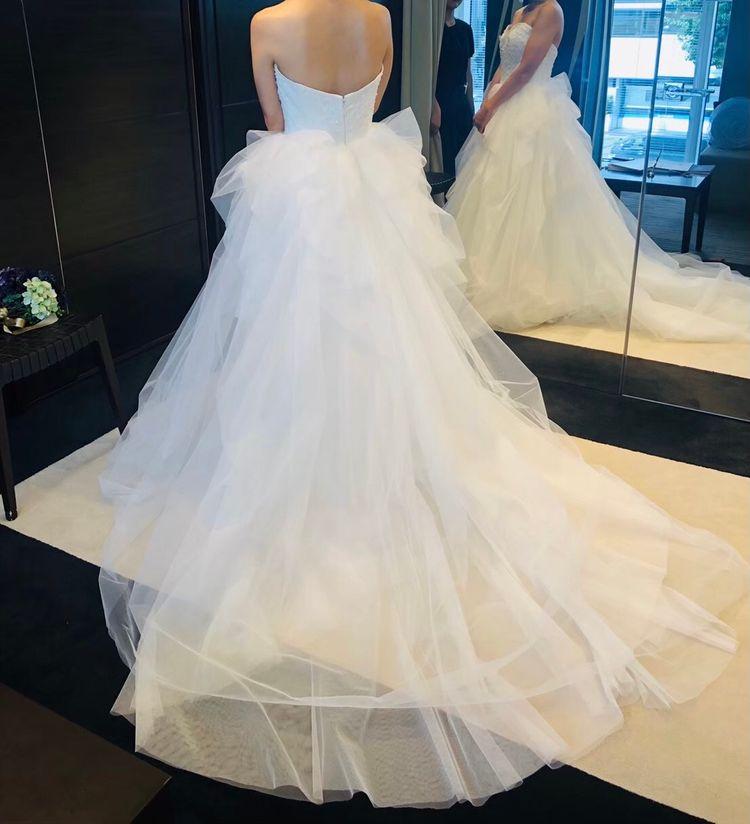 バレリーナのようなドレス
