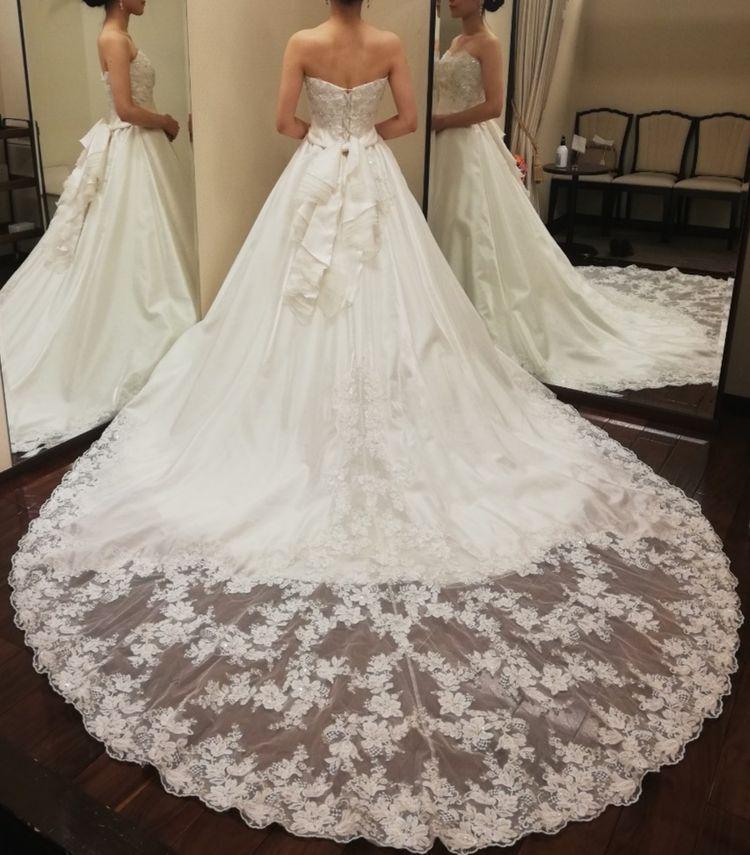 王道なAラインドレス