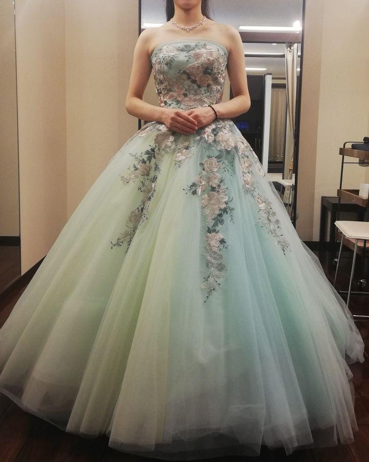新作カラードレス