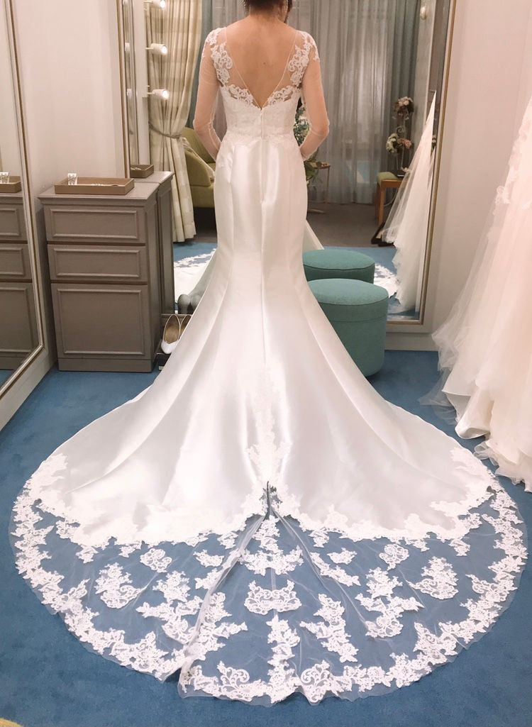 王道マーメイドドレス