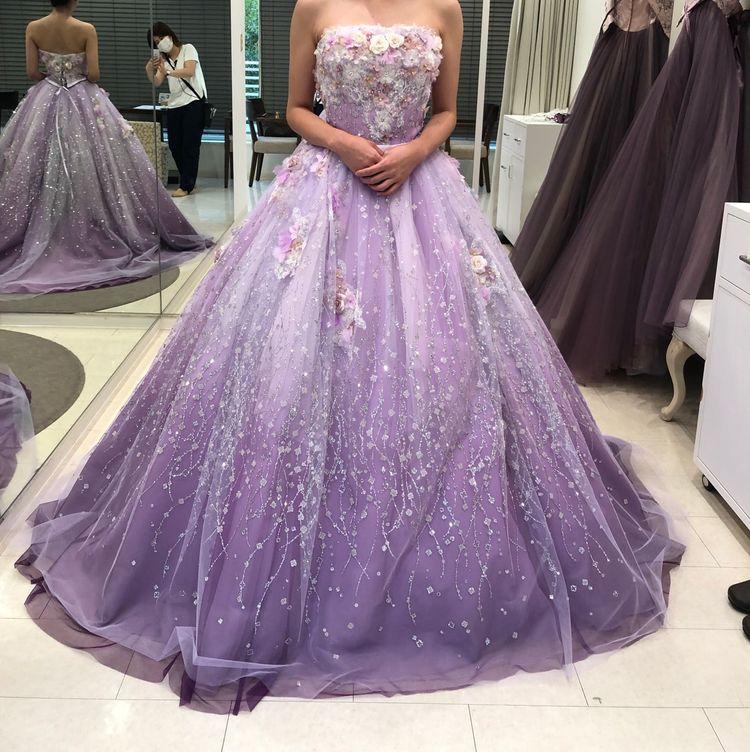 大人気のおすすめカラードレス!
